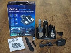 Машинка для стрижки волос Kemei KM-600 тример беспроводная бритва 11в1
