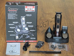Машинка для стрижки, электробритва, триммер Geemy Gm-592 10 in 1