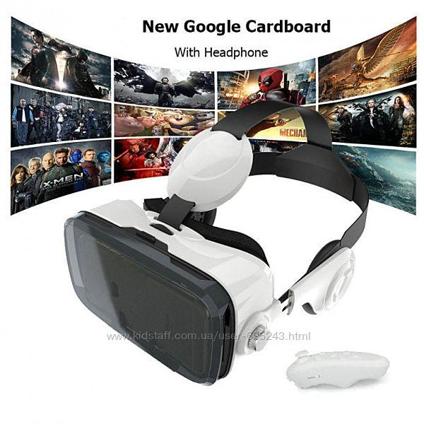 Очки виртуальной реальности BOBOVR Z4 с наушниками 3D очки VR BOX