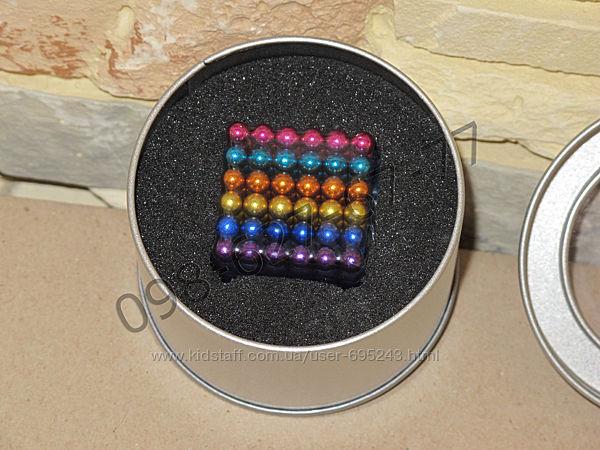 Неокуб цветной neocube радужный різнокольоровий 5мм 216