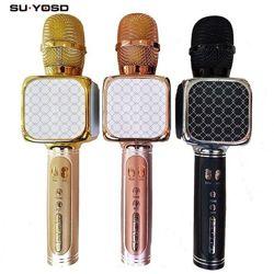 Беспроводной караоке микрофон SUYOSD YS-69 радиомикрофон микрофон колонка