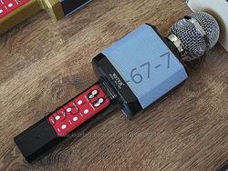Беспроводной караоке микрофон Wster WS-1828 черный