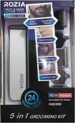 Rozia HQ5300 машинка для стрижки волос триммер электробритва головы ушей