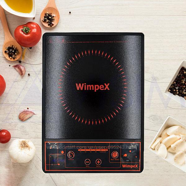 Электроплита Инфракрасная Wimpex WX 1322 Индукционная 2000 Вт