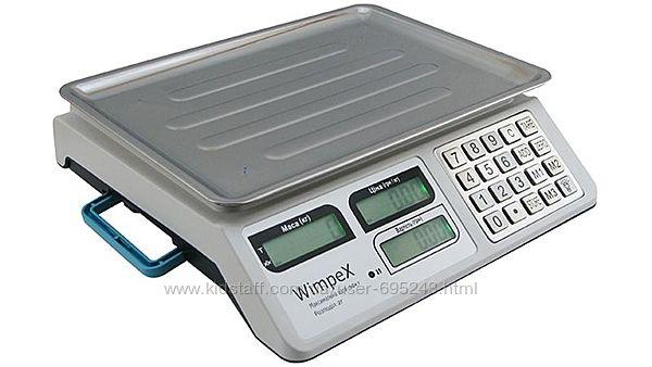 Торговые Весы Wimpex WX-5004 С Металлическими Кнопками