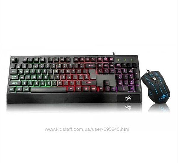 Клавиатура Игровая С Подсветкой И Мышкой UKC M 710 Zeus M710