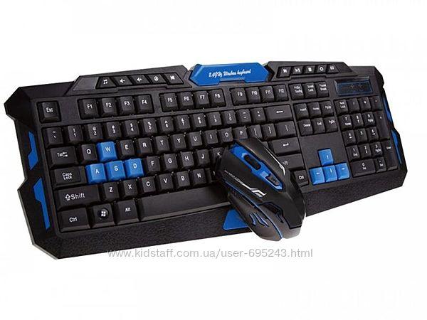 Клавиатура Игровая Pro Gaming HK-8100 Комплект С Мышкой Игровой