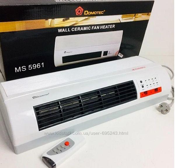 Тепловентилятор обогреватель настенный DOMOTEC MS-5961