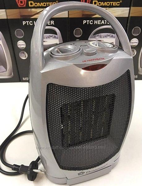 Тепловентилятор обогреватель с таймером domotec ms-5905/220V/1500W