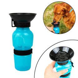 Поилка Для Собак Прогулочная 500 Мл. Aqua Dog С Чашей