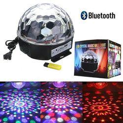 Диско Шар Magic Ball Bluetooth С Флешкой И Пультом Управления