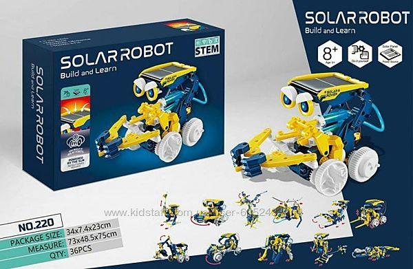 Робот Конструктор Solar Robot 11 В 1 На Солнечной Батарее Солар