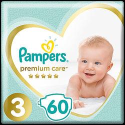 Подгузники Pampers Premium Care 3, 4, 5   Польша