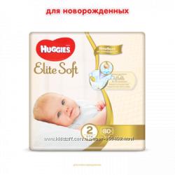 Подгузники Huggies Elite Soft 1, 2, 3, 4, 5