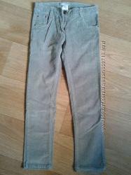 Вельветовые брюки р. 134