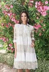 Обворожительное летнее платье с хлопка Indiano 22361 AnastaSea