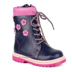 Сапоги зимние кожаные для девочки ШагоВита