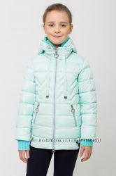 Куртка деми для девочки весна, осень цвет мята в наличии