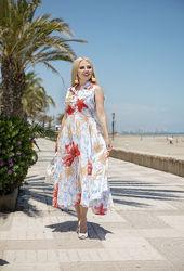 Сарафан платье летнее с хлопка Indiano 2458 AnastaSea