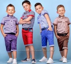 Костюм летний, рубашка, шорты, бабочка для мальчика в наличии