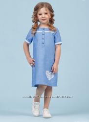 Платье летнее для девочки в наличии 110-116-122-128-134-140
