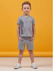 Летний комплект для мальчика футболка и шорты
