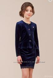 Школьная форма джемпер, блуза и юбка для девочки в наличии