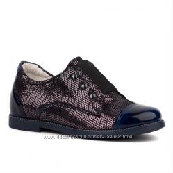 Туфли кожаные для девочки Shagovita Шаговита