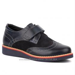 Туфли кожаные для мальчика Shagovita Шаговита