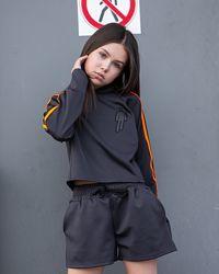 Спортивний костюм трійка ластік для дівчат Біллі Айліш р. 134-164см