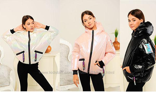 Сучасна, стильна демісезонна курточка для дівчат в наявності. Модній крій,