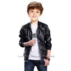 Куртки для мальчиков и девочек из кожи РУ в наличии