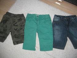 Фирменные джинсовые шорты John Lewis, Denim Co, George