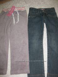 Велюровые новые брюки Глория джинс