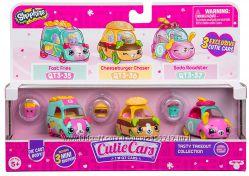Шопкинс Милые машинки Cutie Cars Shopkins S3 3 Pack - Tasty Takeout
