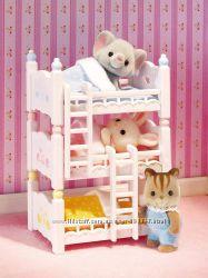 Sylvanian Families Calico Critters Трехъярусная кровать