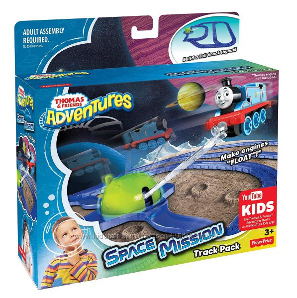 Томас Thomas & Friends Fisher-Price Adventures, Space Mission Track Pack