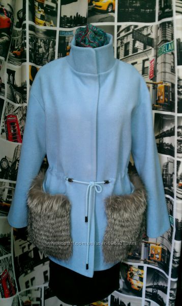 Модное пальто с меховыми карманами, куртки ветровки одежда из США