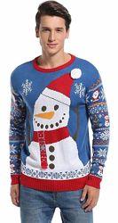 Blizzard Bay Новогодний свитер с мигающими огоньками  и без из США