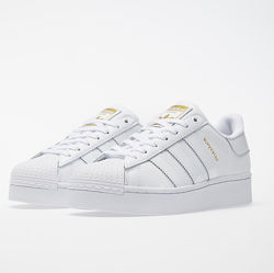 Детские кроссовки адидас суперстар белые. Adidas superstar белые 35, 36 р.