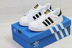 Белые кроссовки. Adidas Superstar. Адидас суперстар. Кроссовки 35 размер