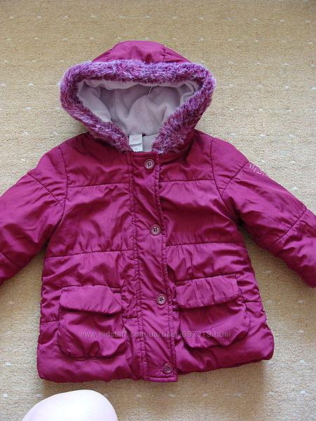 Демисезонная курточка р. 80 1-2 года