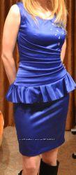 Нарядное коктейльное выпускное платье