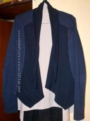 Стильный кардиган жакет пиджак 48р.