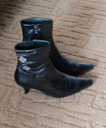 Деми ботинки натур. кожа 37р.
