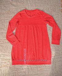 Красное платье туника 44-46р. в отл. состоянии