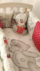 для девочек и мальчиков Комплект постельного белья Панель
