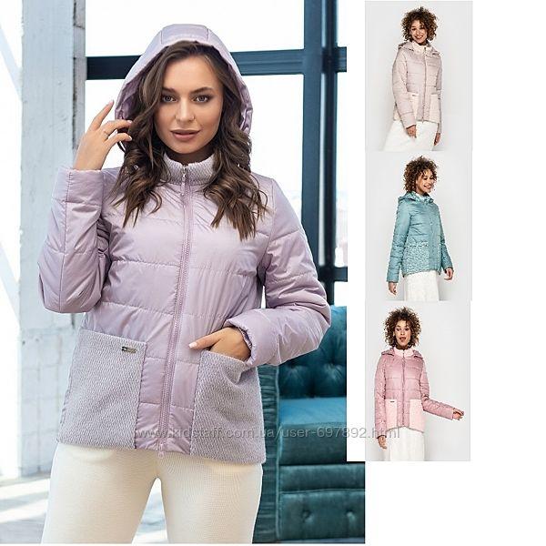 расцветки р.42-56 Стильная женская демисезонная курточка куртка код204