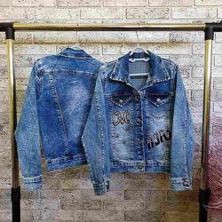 р.6-9 модна джинсовка для дівчаток виробник Туреччина к184 - 244