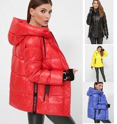 S M L XL 2XL Короткая приталенная куртка зимняя код285